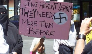 Anti semitism racism all around world